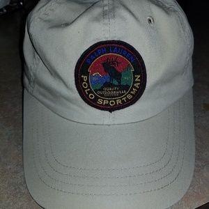 Vintage Ralph Lauren Polo sportsman patch hat